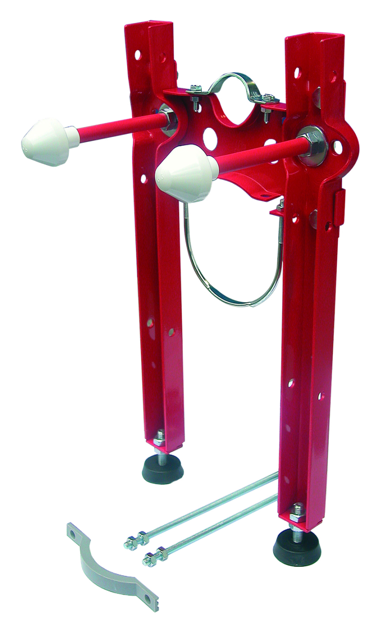Rossa staffa premontata universale per vasi sospesi gia for Sanitari sospesi bricoman